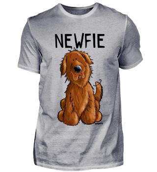 Sweet Newfie Hund I Neufundländer