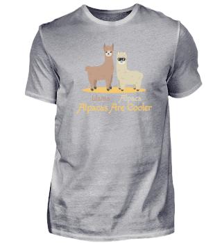 Llama Alpaca Are Cooler Alpaca Animal