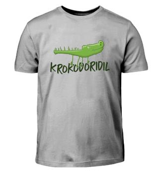 Krokodiridil Krokodil Kinderzeichnung