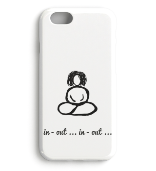 Buddha Woman in out iPhone personalisierbar Handyhülle