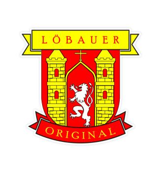 Löbauer Original Aufkleber