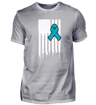 Fck Cancer Shirt ovarian cancer