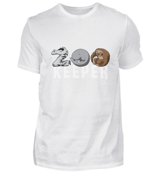 Zoo Keeper Zoologist Kids Animal Alphabe