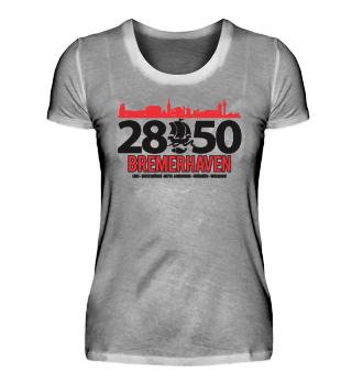 Bremerhaven 2850 Logo Frauenshirt