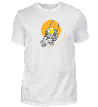Smiley Sorry I need some space t-shirt