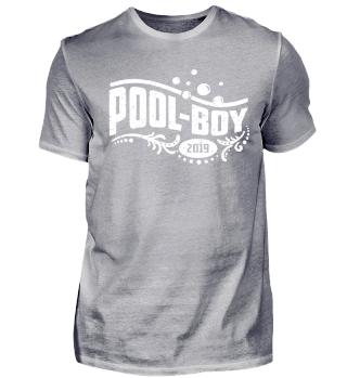 Pool Boy T-Shirt für Wasserratten