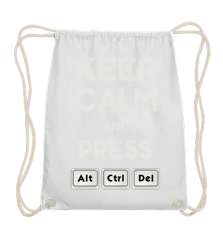 Keep Calm ALT CTRL DEL - grey