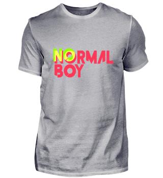 No normal boy