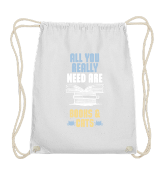 All you really need are books and cats