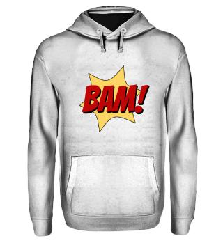 BAM Comic Superhelden Action Geräusch
