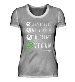 VEGAN ✓ - auf BIO-Shirts und FAIR