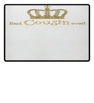 ♛ Royal Crown - Best Cousin Ever