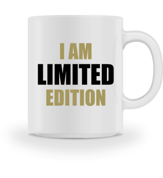 ♥ I AM LIMITED EDITION #1GST