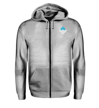 Waves Zipper - Logo Used Look