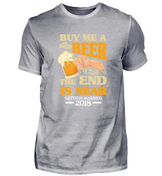 Buy me a Beer getting Married 2018