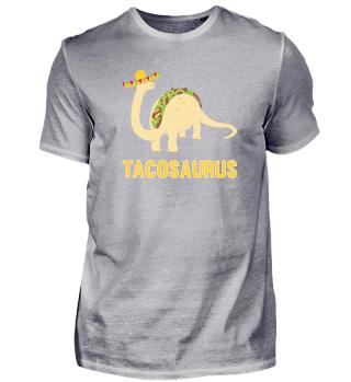 Funny Tacosaurus T-Shirt Taco Fans