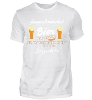 Junggesellenabschied - Bier 9#