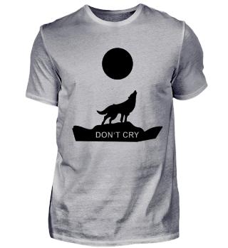 Wolf Vollmond Cry Werwolf Geschenk Idee