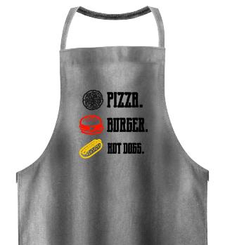 Kochschürze Fast Food