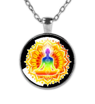 ♥ Yoga Lotus Chakra Meditation III Kette