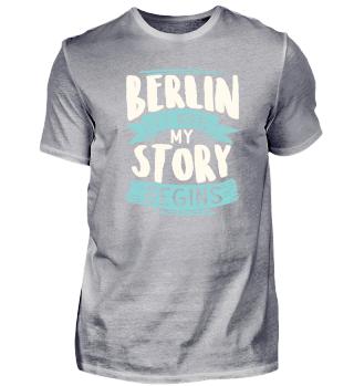 Berlin it´s where my story begins