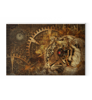 A Tiger World Of STEAMPUNK 1b