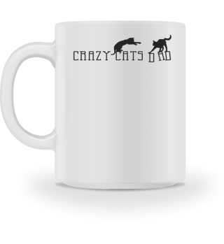 ★ Crazy Cats Dad - Fantasy Silhouette 1