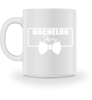 GIFT- BACHELOR PARTY TIE WHITE