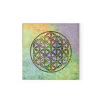 Flower Of Life - Antique Grunge Colors 3