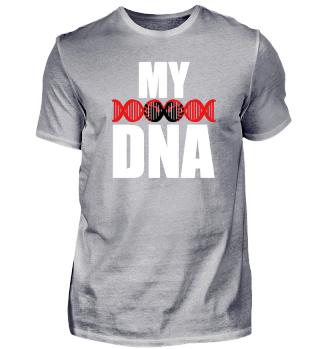 ALBANIAN DNA Geschenkidee Motiv Design