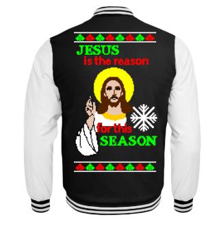 Jesus is the Reason Ugly Christmas Xmas