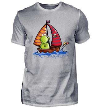 Segelboot Frosch I Segeln I Meer Urlaub