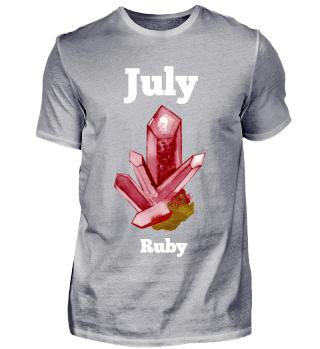 Juli Geburtsmonat Rubin