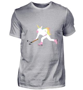 Perfekt für Eishockey und Einhorn Fans