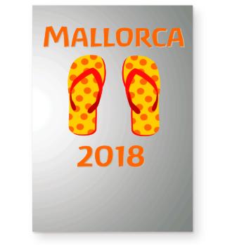 Mallorca 2018 mit Badelatschen