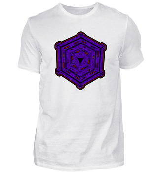 Mandala - Cube - geometry - goa - gift