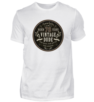 78th Birthday Vintage T-Shirt Gift