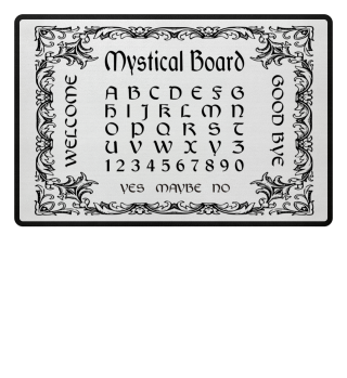 Mystical Board - Hexenbrett I - black