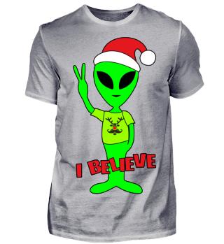 Peace Alien - Santa Claus Rudolph II