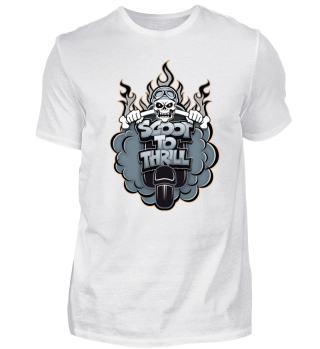Scoot to thrill Moto Scooter T-shirt