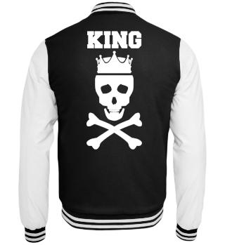 King Pärchen Totenkopf Jacke