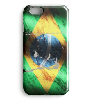 Brazil Team Flag Vintage Used Phone