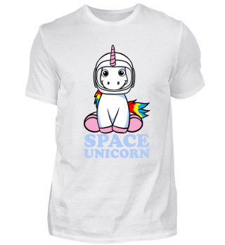 Astronaut Einhorn Space Unicorn Geschenk