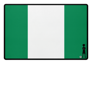 fussballkind - Fussmatte Nigeria