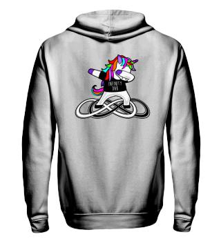 Dabbing Rainbow Unicorn - Infinity Dab 1