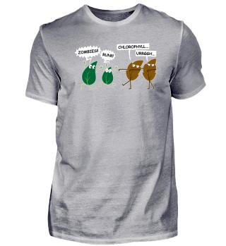 Funny Vegan Zombie Leaves