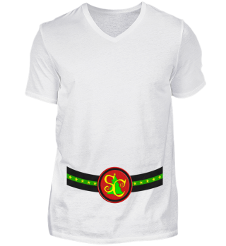 Santa Claus Monogram Belt