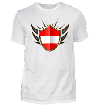 Österreich-Austria Wappen Flagge 014