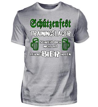 Schützenfest - Trainingslager