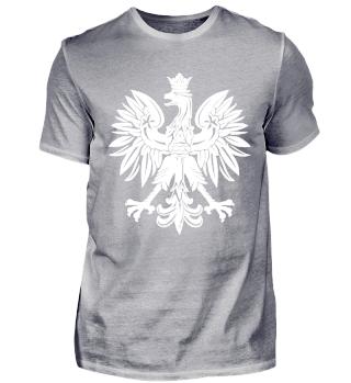 Polen T-Shirt Polnische Flagge Geschenk